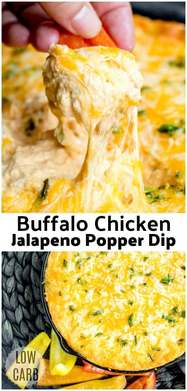 Buffalo Chicken Jalapeno Popper Dip | Home. Made. Interest.