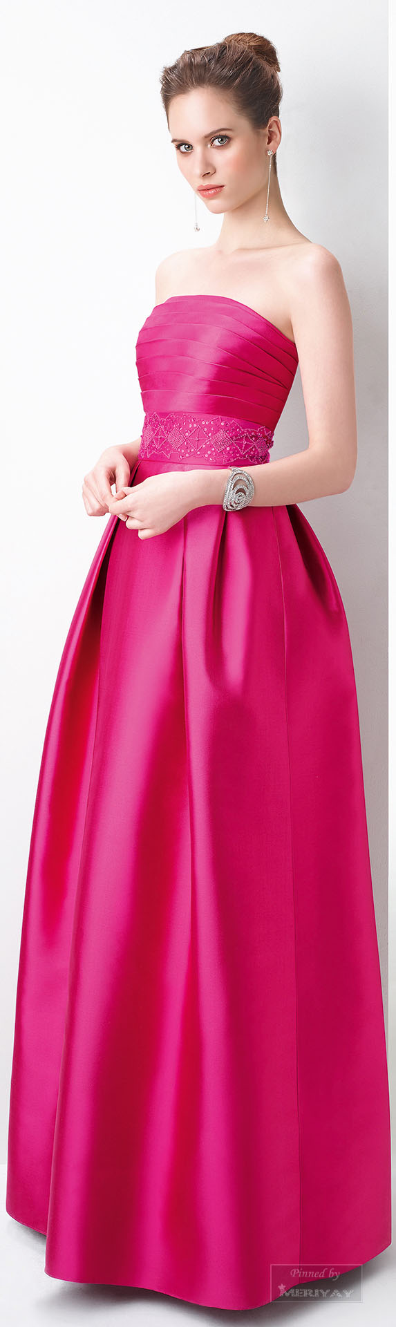 Glamour gown..Aire Barcelona.2015. jaglady | Pink/Electricity Neon ...