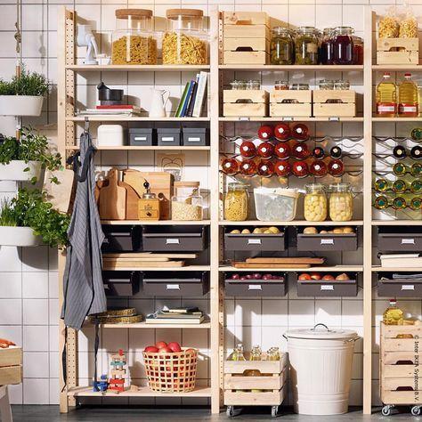 Garde manger cuisine amenagement maison - Garde manger cuisine ...