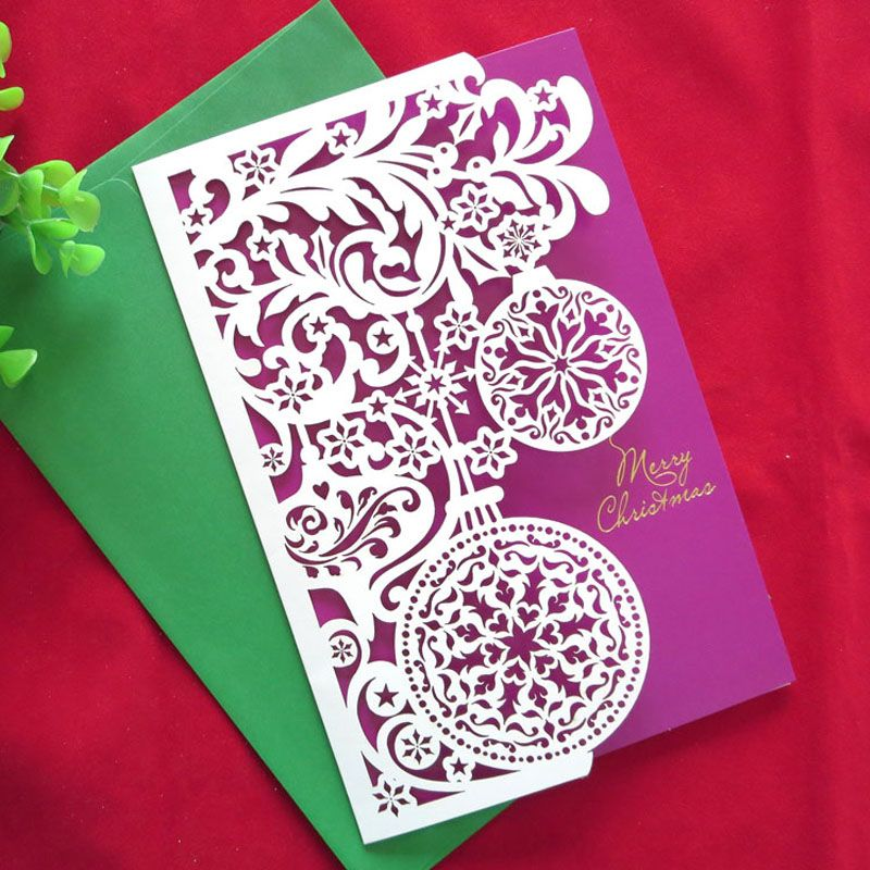 2016 new year 10 pcs creative handmade high quality merry christmas 2016 new year 10 pcs creative handmade high quality merry christmas cards cute gifts laser cut up paper business greeting cards reheart Gallery