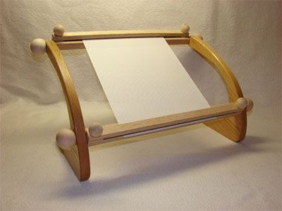 table top embroidery stand