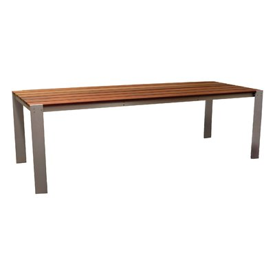 Modern Outdoor Luma Solid Wood Dining Table Table Size 34 X34