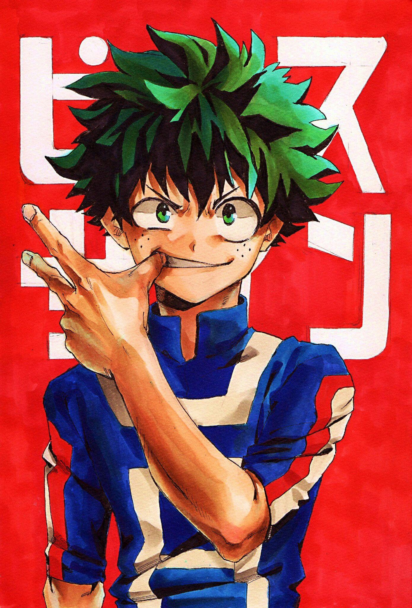 Boku no Hero Academia Midoriya Izuku, My hero academia