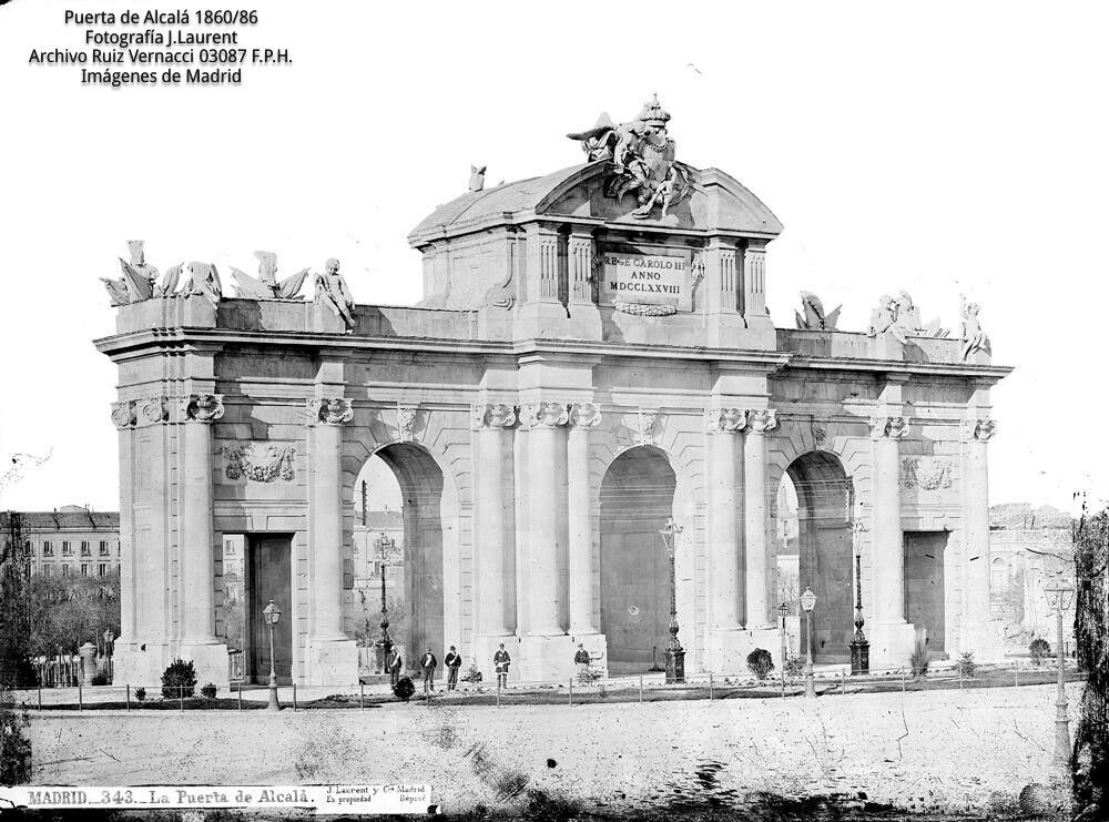 Puerta de Alcalá 1860-86
