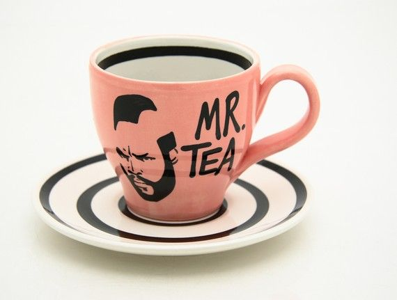 Mr. Tea teacup...giggle