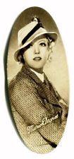 MARION DAVIES 1934 Carreras Cigarettes Film Stars OVAL Cigarette Card