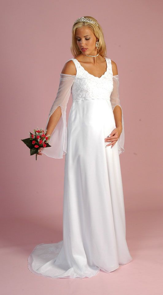 gown for pregnant bride , dresses for pregnant women , pregnant ...