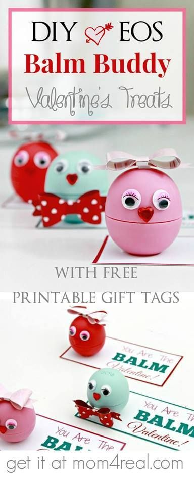 #valentines #printable #valentine #buddies #treats #balm #with #free #tags #gift #diy #eosDIY EOS Balm Buddies Valentine Treats with Free Printable Tags DIY EOS Balm Buddies Valentine's with Free Printable Gift TagsDIY EOS Balm Buddies Valentine's with Free Printable Gift Tags