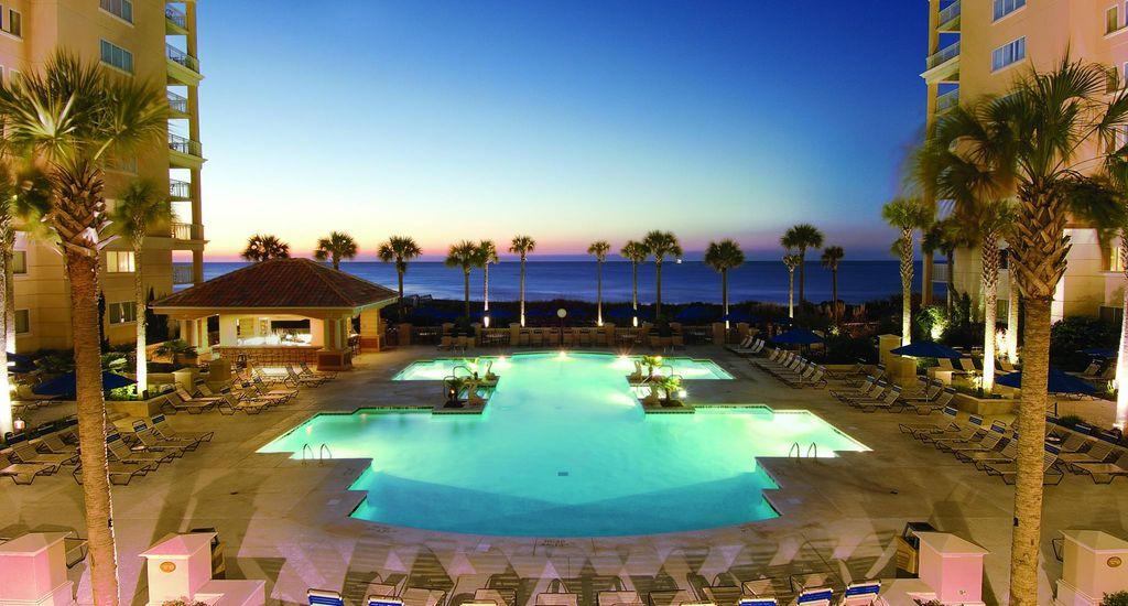 Marriotts OceanWatch Villas Hotel In Myrtle Beach South Carolina