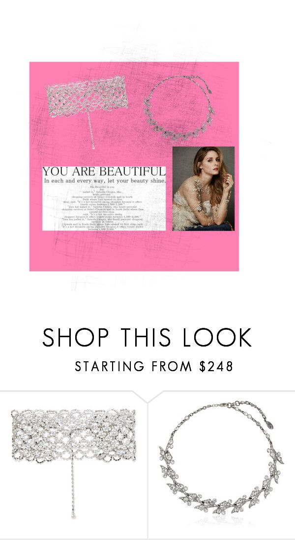 """""""My fav chocker"""" by beautiful-love-that-look ❤ liked on Polyvore featuring Kenneth Jay Lane and Ben-Amun"""