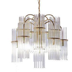 Img thing 300300 pixels chandelier pinterest chandeliers gaetano sciolari for lightolier glass rod and brass chandelier audiocablefo