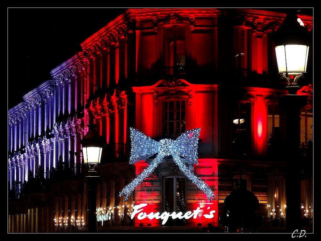 Lumières de fin d'année à Paris - Paris, Ile-de-France
