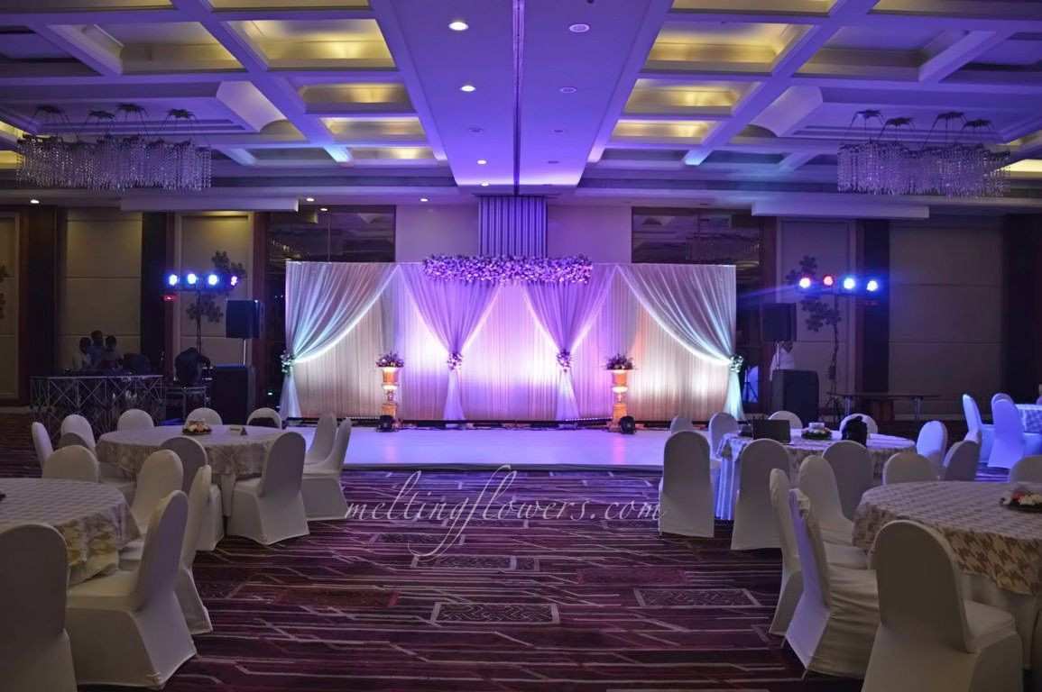 Le Meridien Banquet Halls In Bangalore Decorated For Wedding