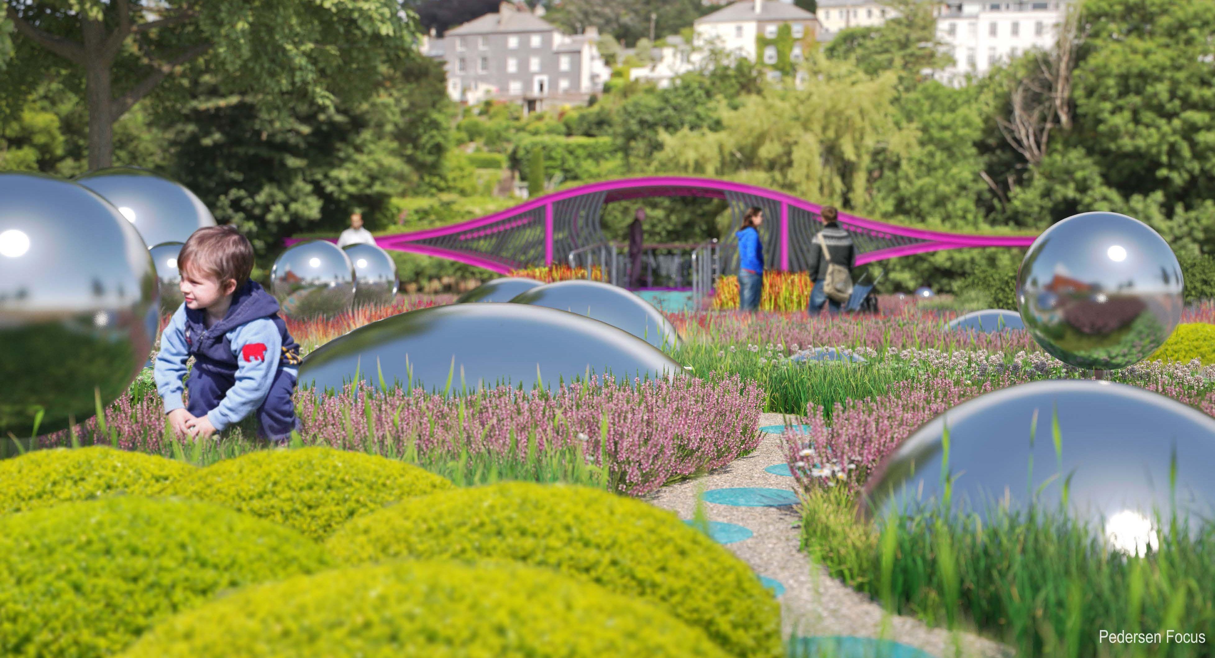 Mardyke Gardens Fitzgerald Park Cork Sensory Garden Cork City Landscape Design