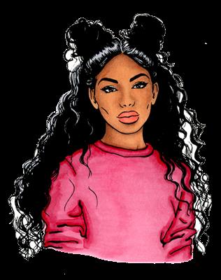 848858229750460354 Black Girl Cartoon Black Girl Art Black Women Art