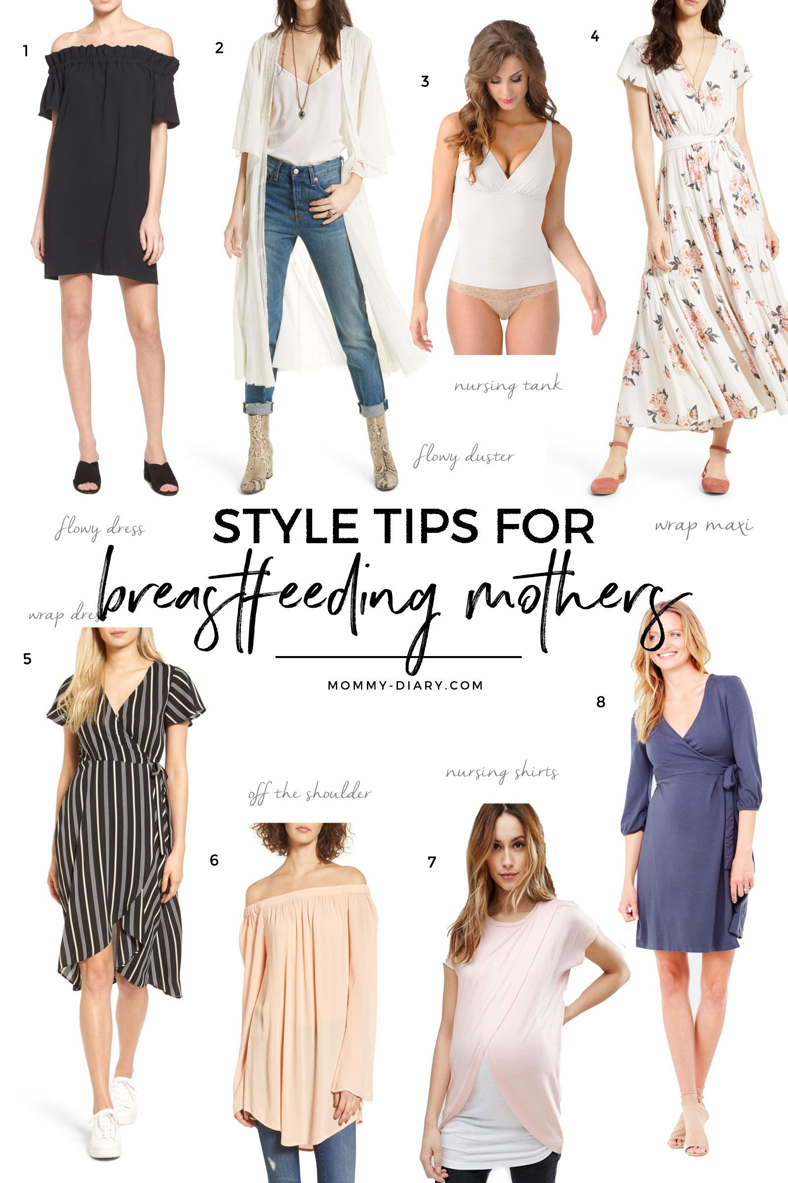 2e22a99e2e333 Style Tips For Breastfeeding Mothers | MOMMY DIARY BLOG ...