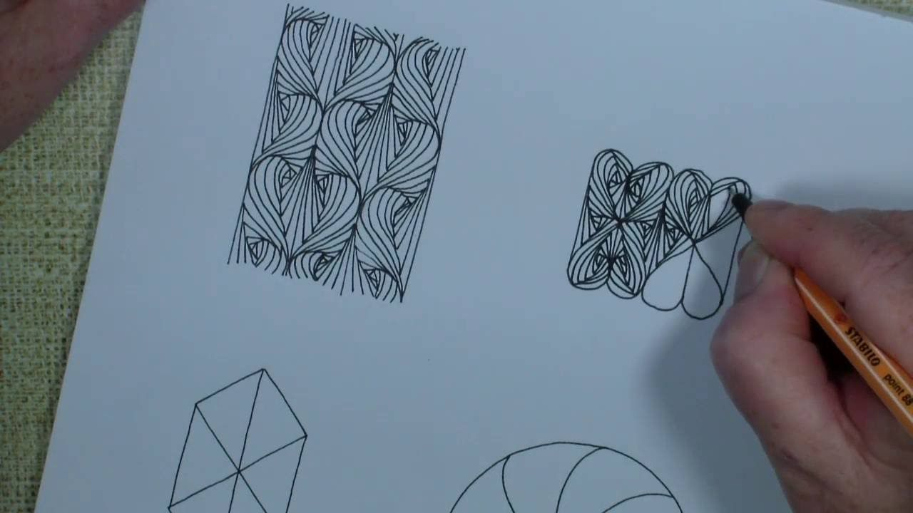 4 ideas with Paradox - tangle pattern