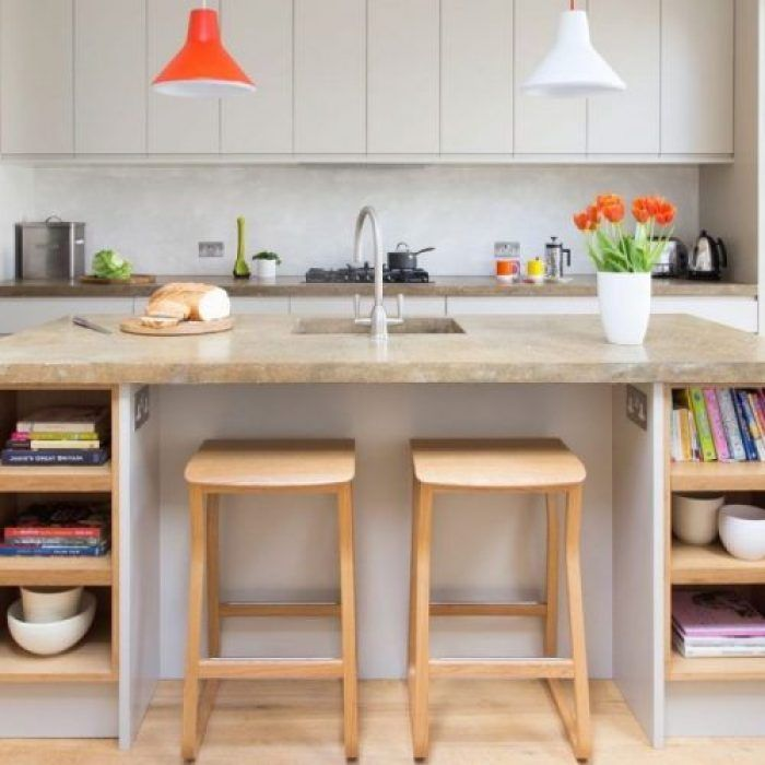 20 Recommended Small Kitchen Island Ideas on a Budget lakás