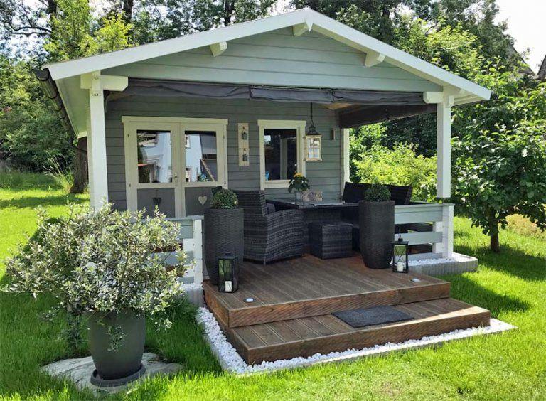 Gartenhaus So sehen Sieger aus Gartenhaus