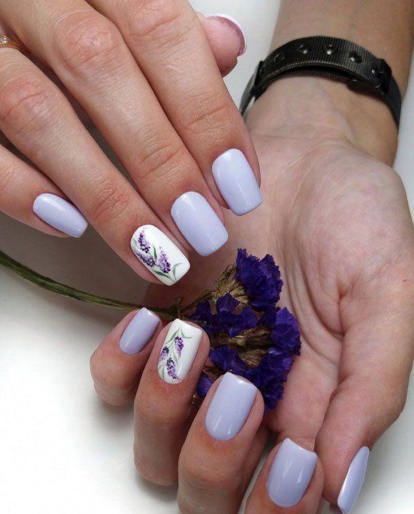 37 Best Spring Nail Art Designs Ideas 2019 Lavender Nails Nail