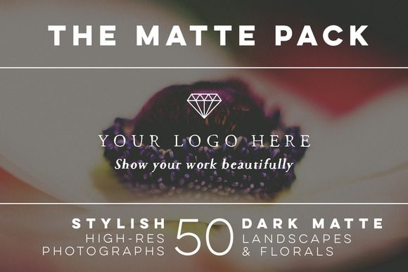 The Matte Pack 50 by ISEEYOUPATTERN on @creativemarket