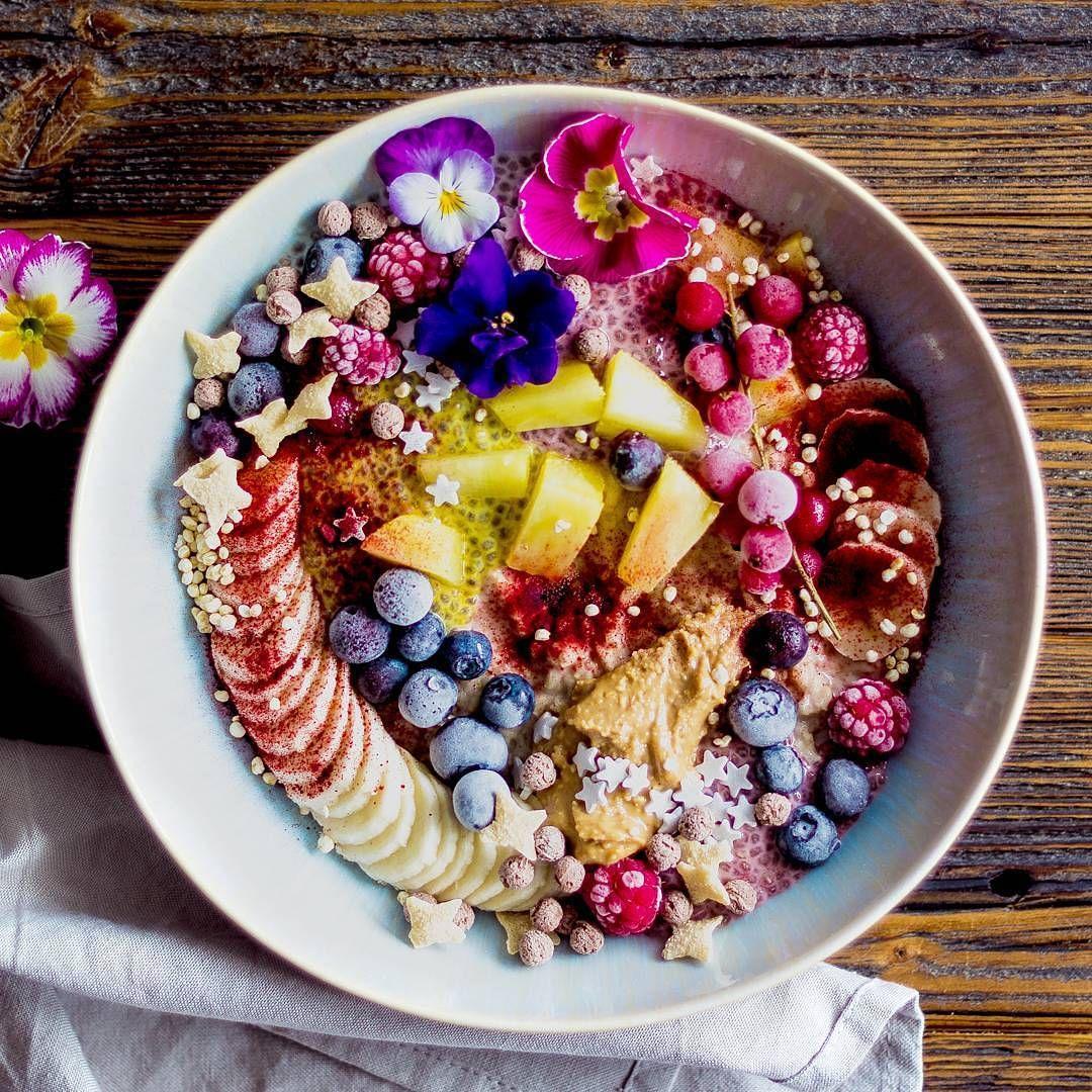 Instaglam | Food, Smoothie bowl, Eat the rainbow