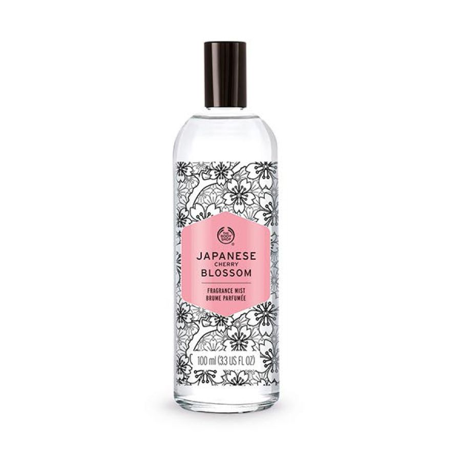Floral Japanese Cherry Blossom Fragrance Body Mist Cherry Blossom Fragrance Japanese Cherry Blossom The Body Shop
