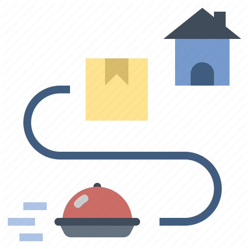 Delivery Food Home Home Delivery Parcel Service Shipping Icon Download On Iconfinder Icon Parcel Vector Pattern