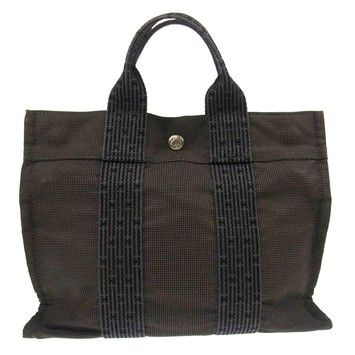 Hermes Herline Pm Hand Canvas France Vintage Grey Tote Bag. Get one of the  hottest styles of the season! The Hermes Herline Pm Hand Canvas France  Vintage ... b95d775f7b