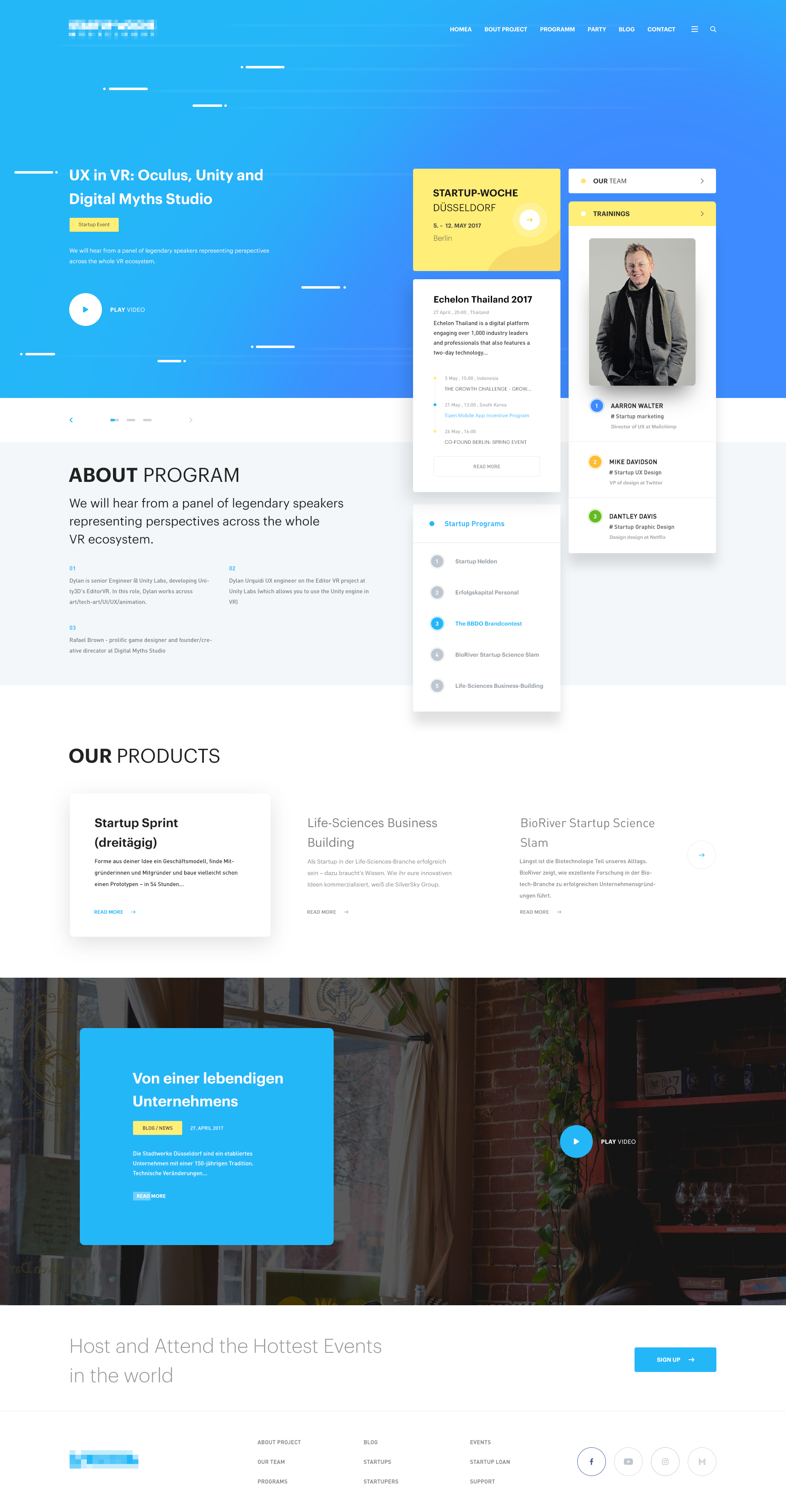 Startuper Design Wordpress Web Theme Design Designer Developer Development Company Dit Interactive Web Design Tips Web Design Business Web Design