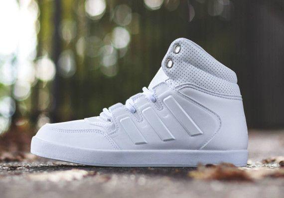 new arrival 5d935 7879e adidas Originals Dropstep – White