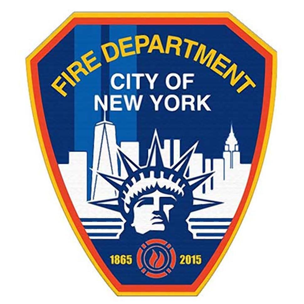 New #FDNY badge celebrating 150 years! #NewYorksBravest