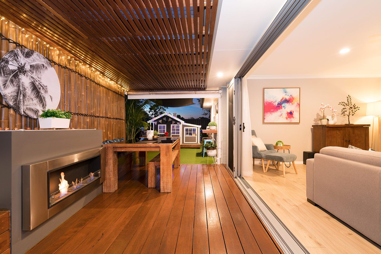 Outdoor Area in 2020   Luxury landscaping, Outdoor ...