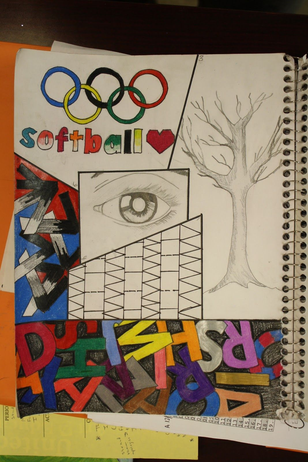 Sketchbook Assignment Ideas Middle School
