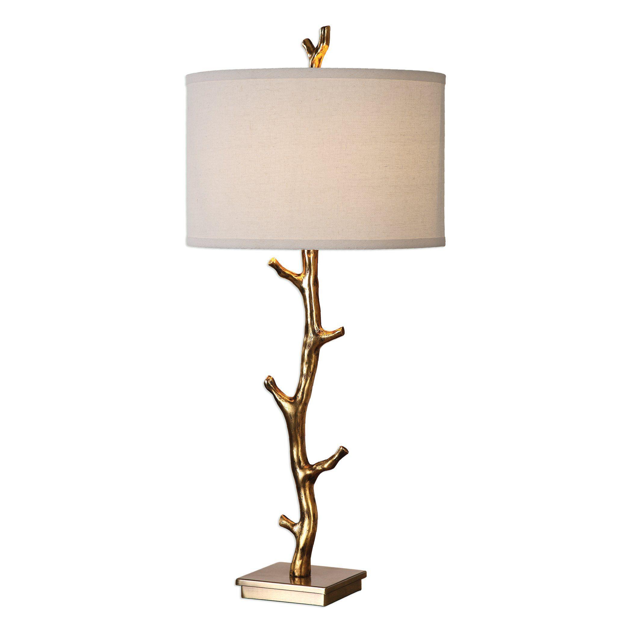 Uttermost 27546 Uttermost Javor Tree Branch Table Lamp In 2021 Gold Table Lamp Table Lamp Lamp