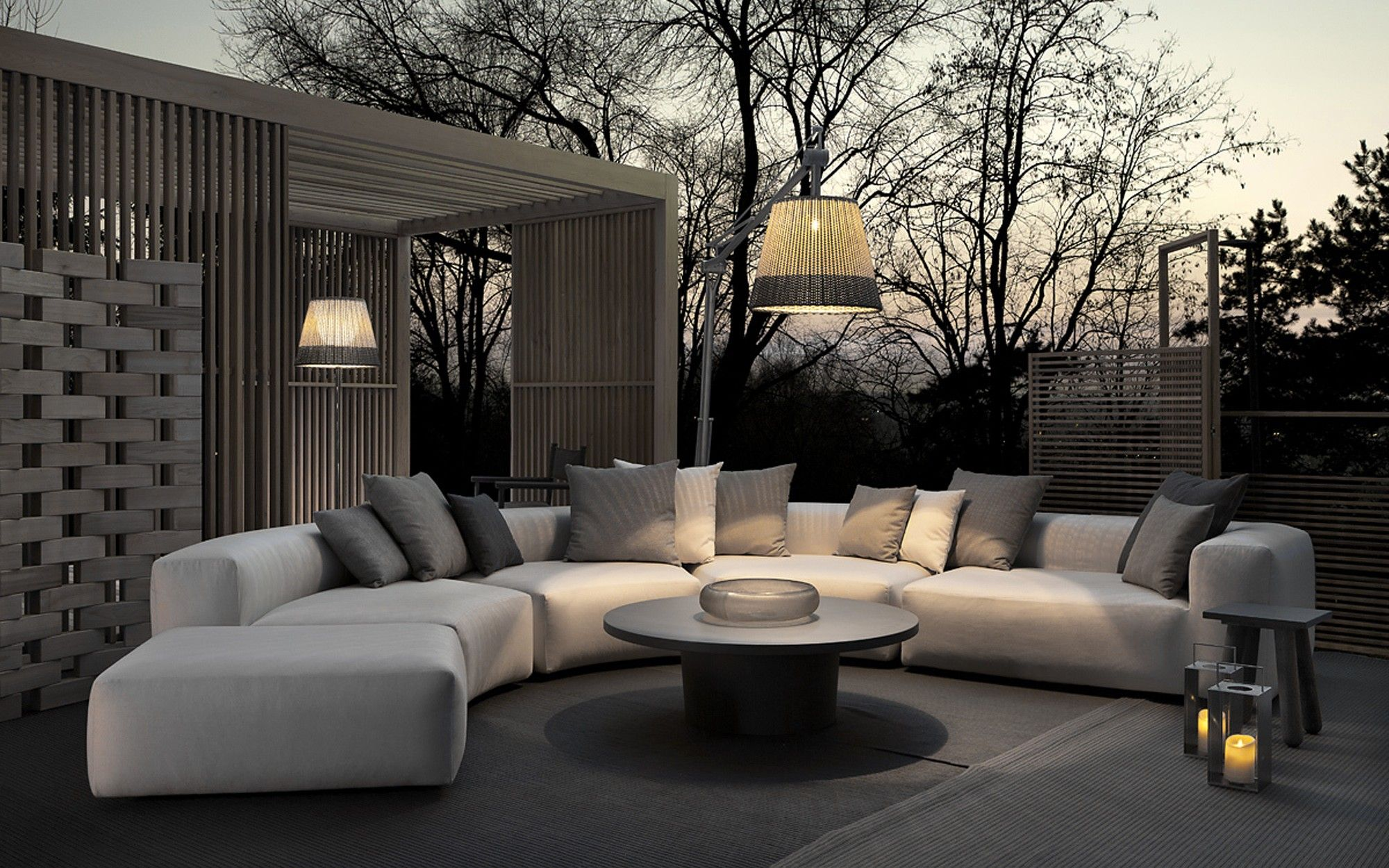 Montecarlo Outdoor Lounge By Exteta. Available From Pure Interiors.