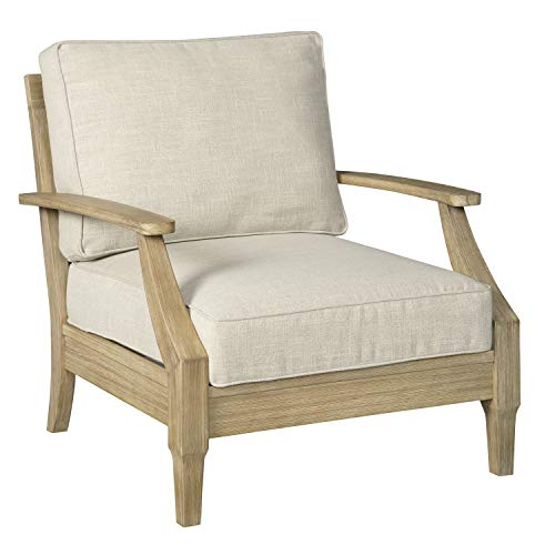Signature Design by Ashley - Clare View Outdoor Lounge ... on Clare View Beige Outdoor Living Room id=80181