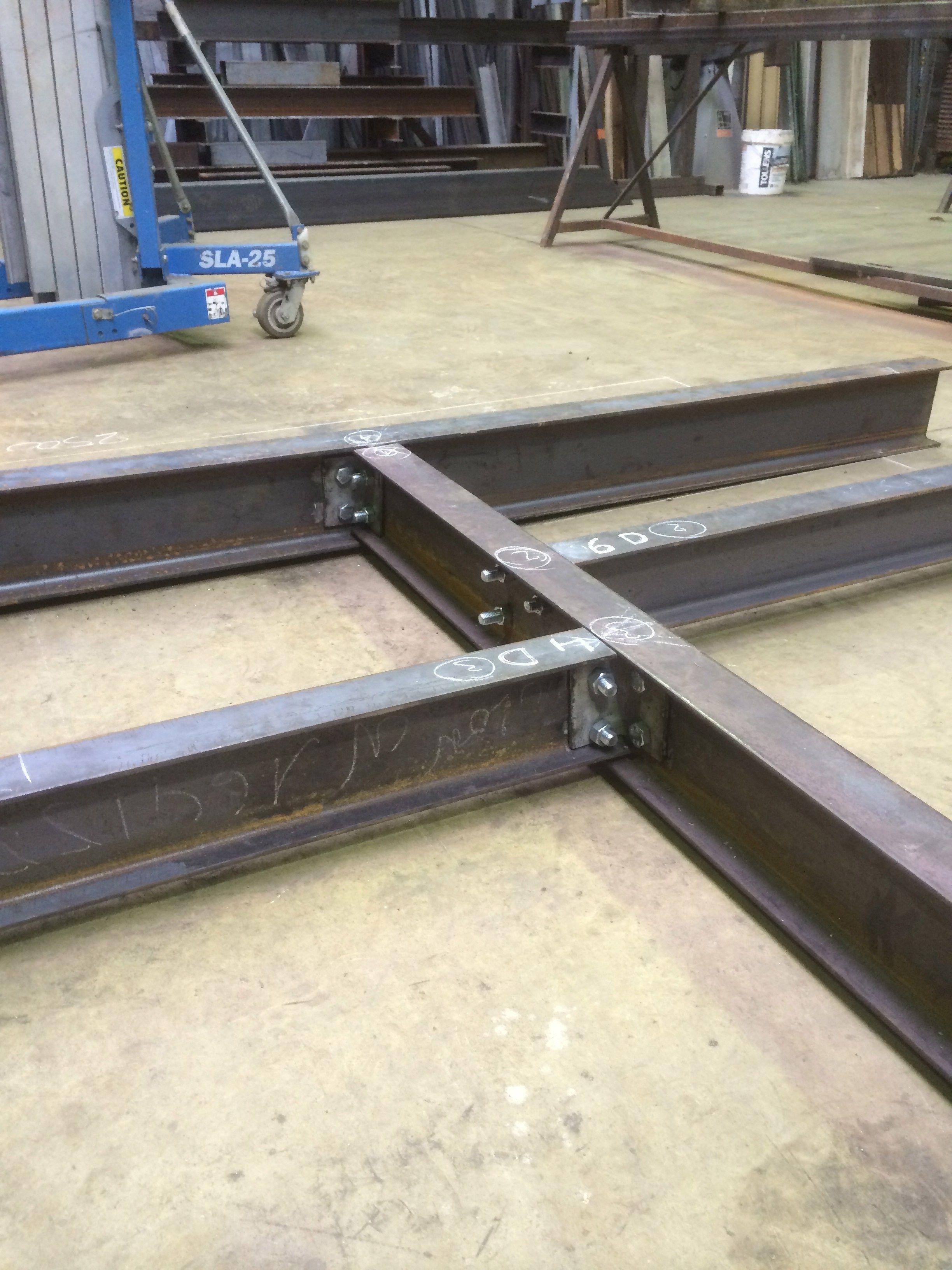 Resultat De Recherche D Images Pour Assemblage Ipn Construction Metallique Assemblage Charpente Metallique