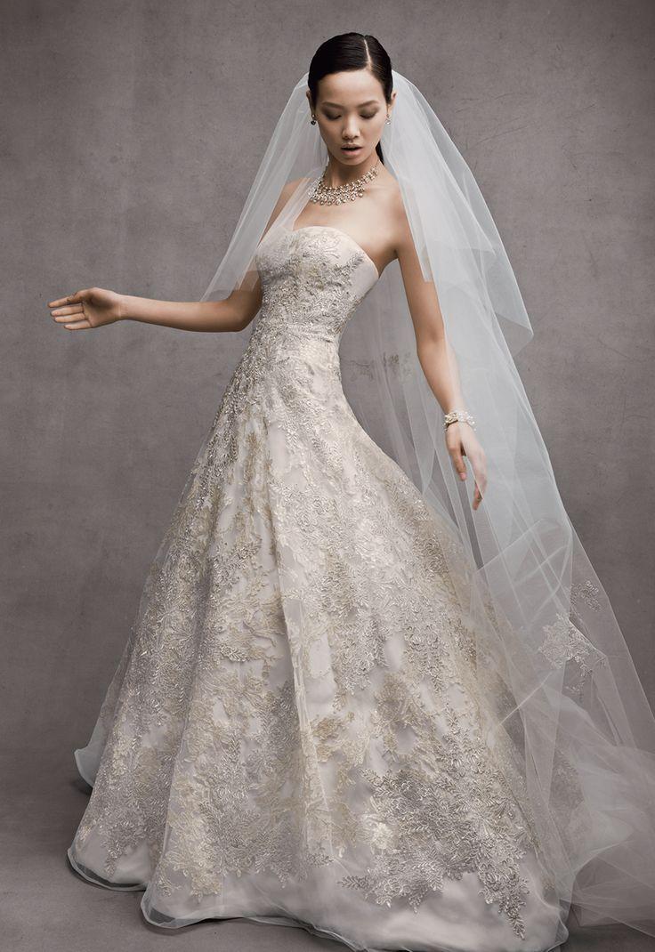Look - Cassini Oleg wedding dress trend in video