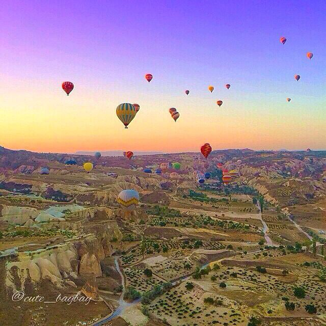 Memories of Cappadocia - Turkey ✨✨ My shot, edited by my dear friend ✨@Izkiz✨ Tag who would you wanna go with!