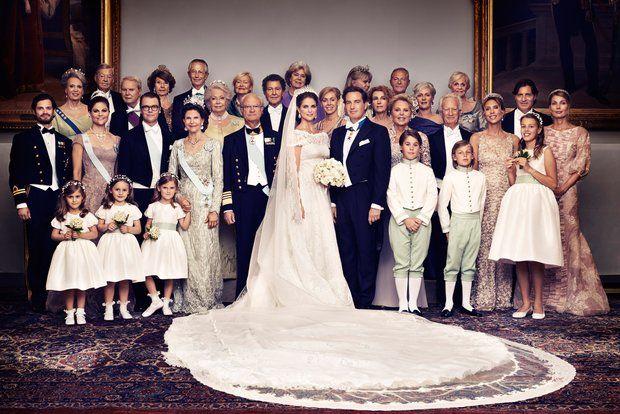 Die Offiziellen Hochzeitsfotos Konigliche Hochzeitskleider Prinzessin Madeleine Royale Hochzeiten