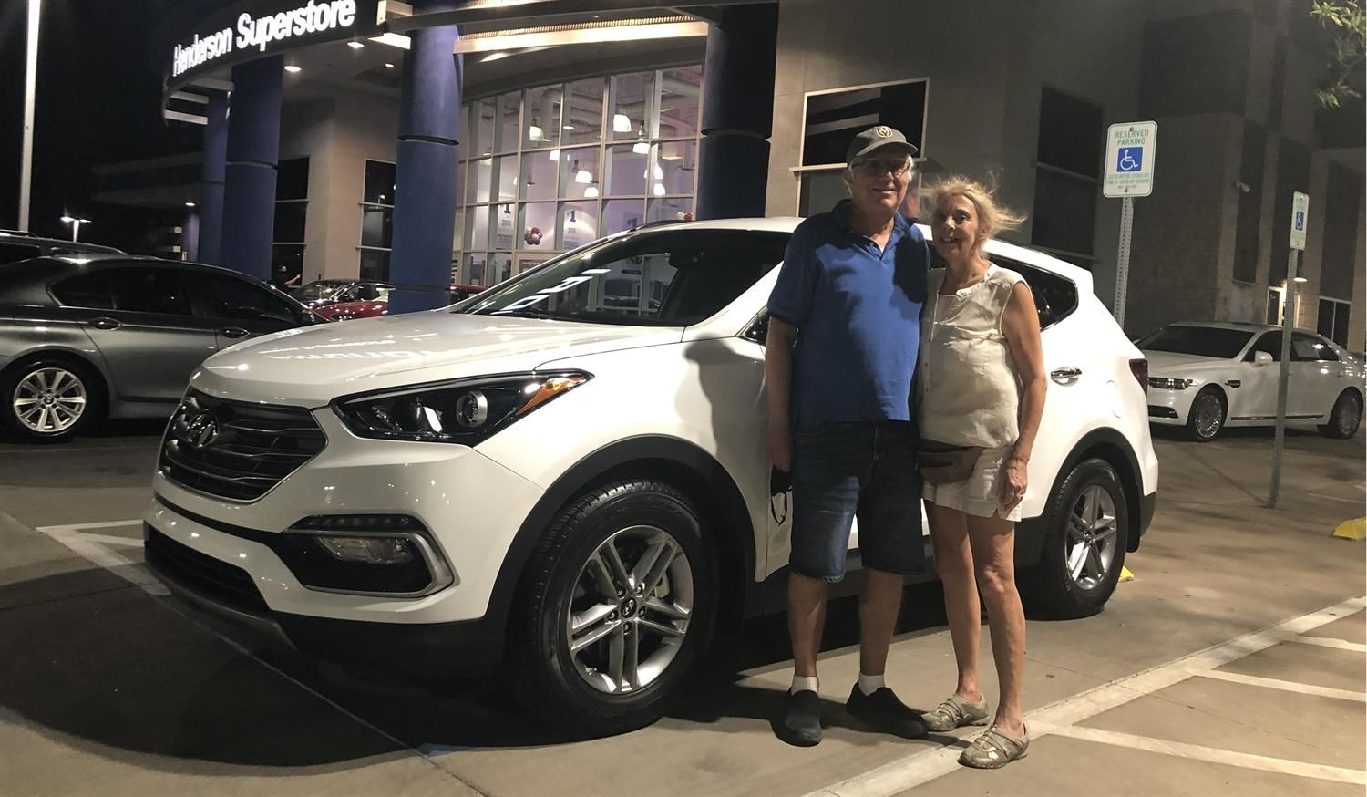 Cindy And John We Hope You Enjoy Your New 2017 Hyundai Santa Fe Congratulations And Best Wishes New Hyundai Hyundai Santa Fe Congratulations And Best Wishes
