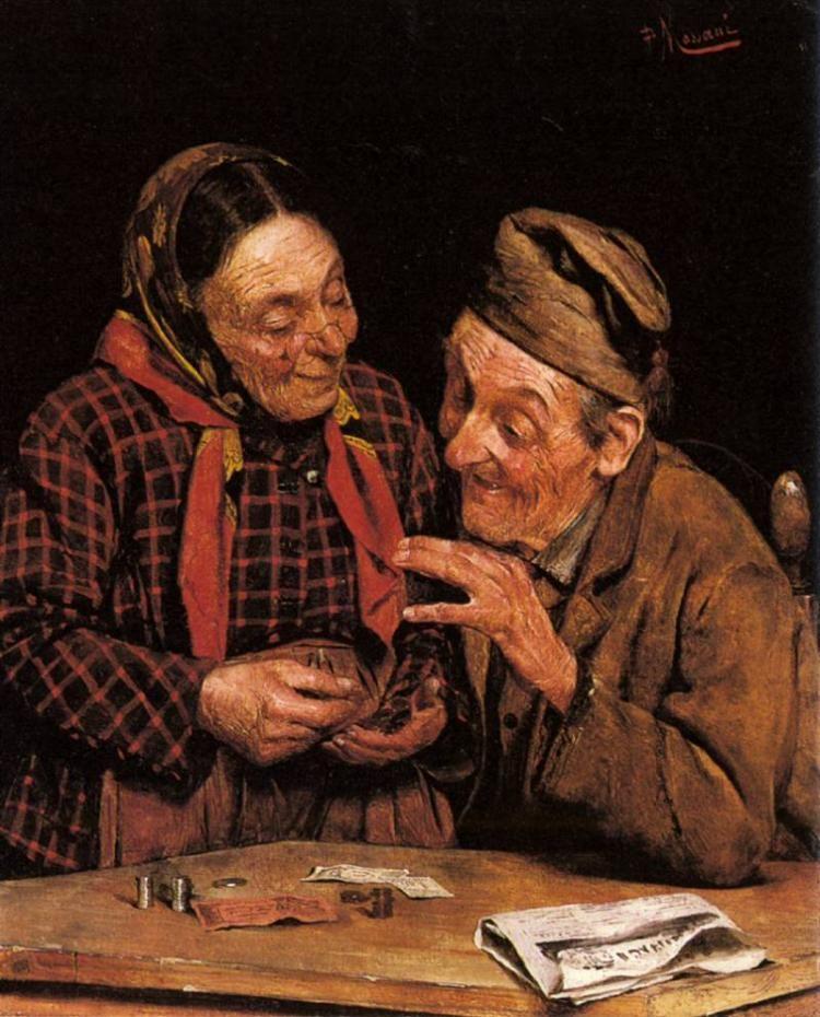 Image result for «Счётчик денег» Pompeo Massani. Помпео Массани