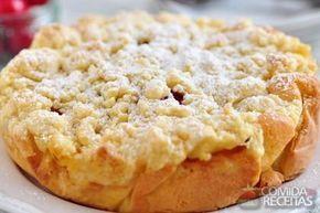 Receita de Torta de maçã alemã (german apple cake) em receitas de tortas doces, veja essa e outras receitas aqui!