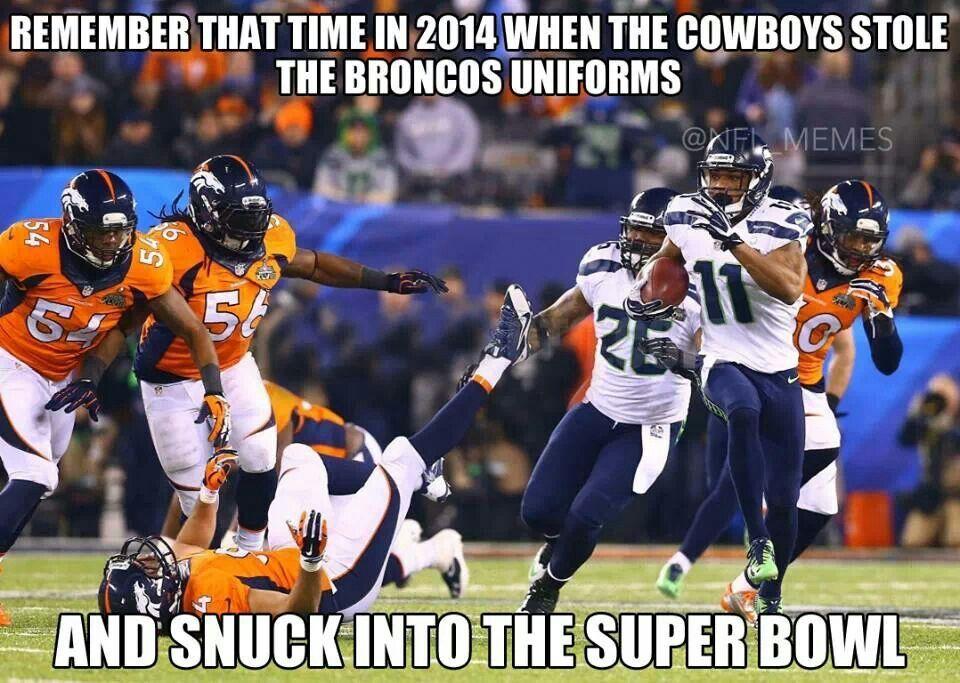 Broncos Cowboys Nfl Nfl Funny Football Jokes Funny Football Memes