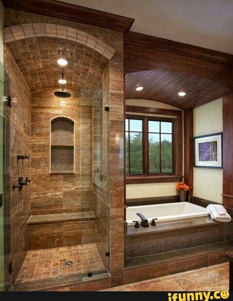Earthtone Bathroom. Western ...
