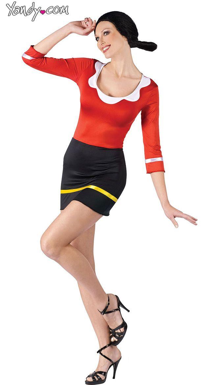 Sexy Olive Oyl Costume Character Costumes Pinterest Costumes - ladies halloween costume ideas