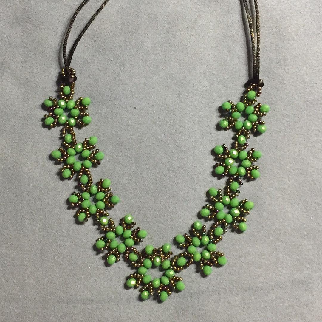#kette #necklace #kristal #cristal #lieferungauchperpost #acessories #beautiful #beaded #bead #snowflake #schmuck #schickgemacht #schneeflocken #schneeflocke #kartanesi #accesorios #deutschland #bielefeld #grüne