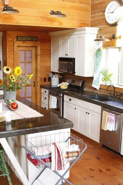 Charming Log Home ~ Creative Cain Cabin | Log home ...
