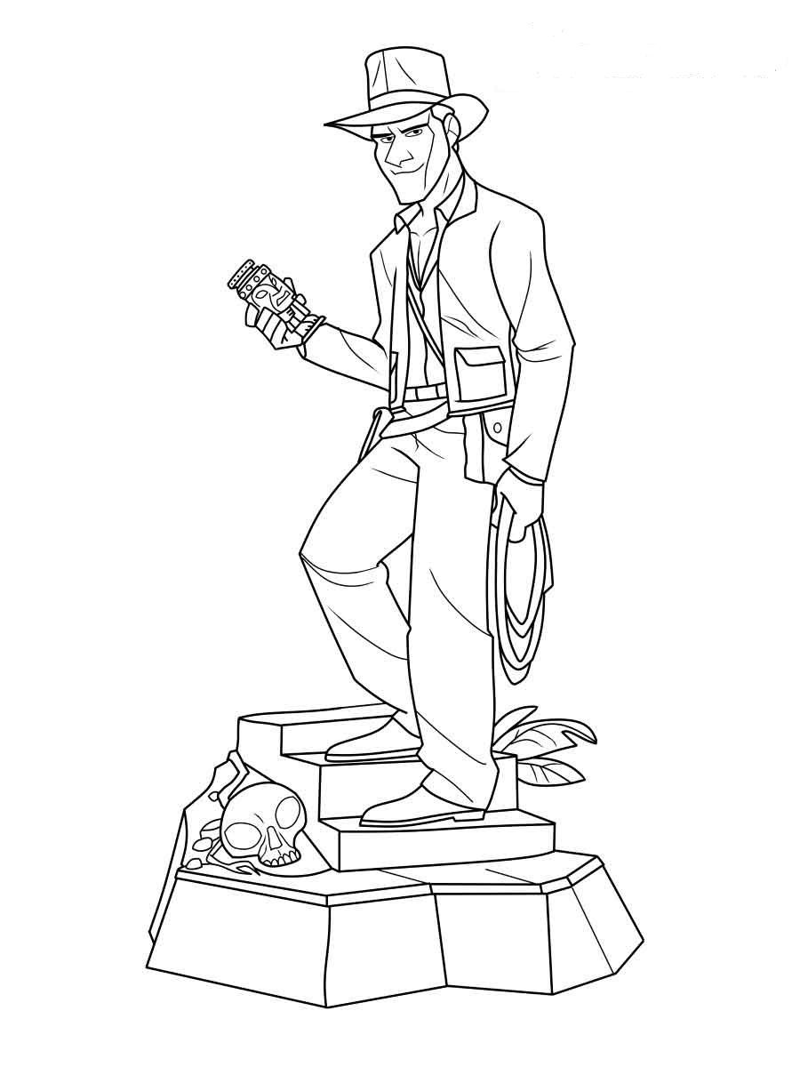 Indiana Jones Coloring Pages 2019 Printable Shelter